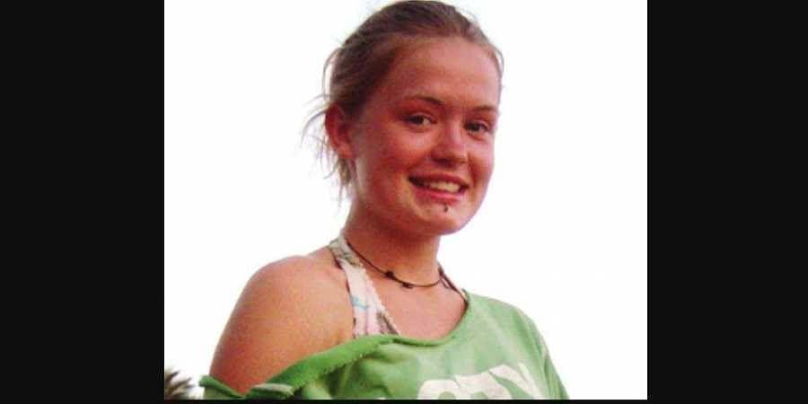 British teenager Scarlett Keeling, a few days before her murder on February 18, 2008. (File photo)
