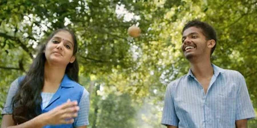 Mathew Thomas, Anaswara Rajan in 'Thaneer Mathan Dinangal'.