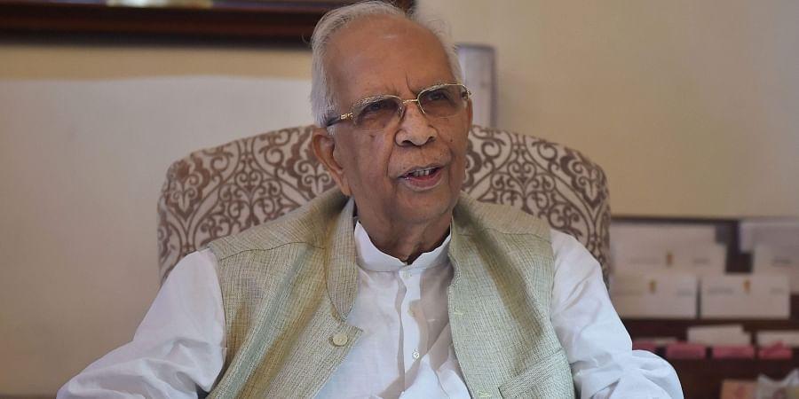 Outgoing West Bengal Governor Keshari Nath Tripathi