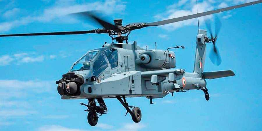 The IAF will raise two squadrons of 11 Apache helicopters each whose base will be in Pathankot in Punjab and Jorhat in Assam