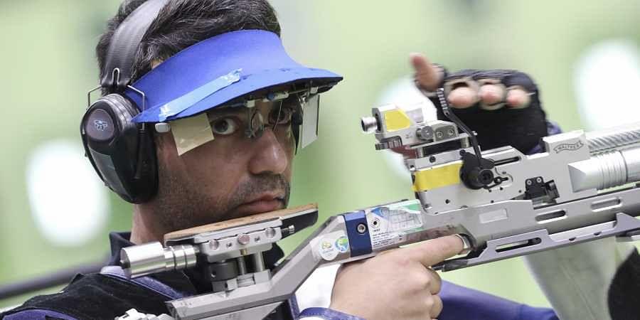 2008 Beijing Olympic gold medalist Abhinav Bindra