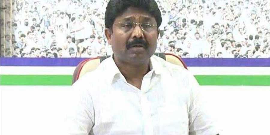 Adimulapu Suresh (Yerragondapalem) (Twitter Photo)
