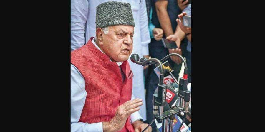 National Conference president Farooq Abdullah