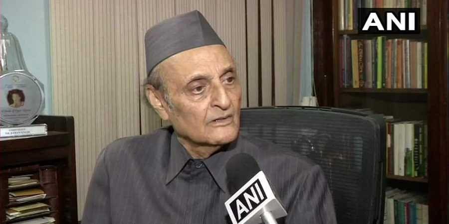 Senior Congress leader Dr Karan Singh