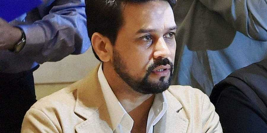 MoS Finance Anurag Thakur