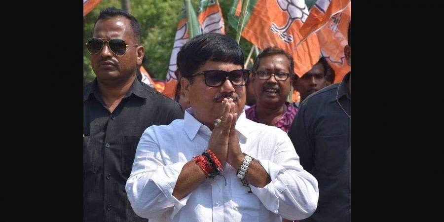 BJP MP from Barrackpore, Arjun Singh (Photo   Facebook)