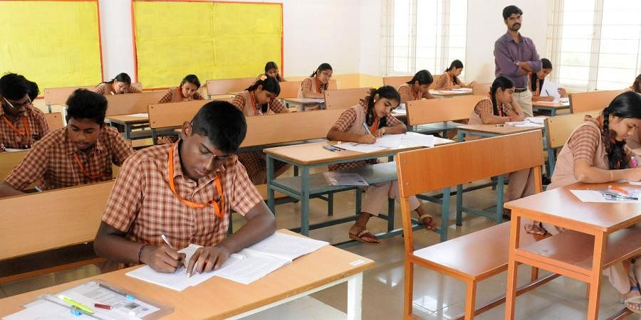 Exam hall, CBSE board exam, CBSE students