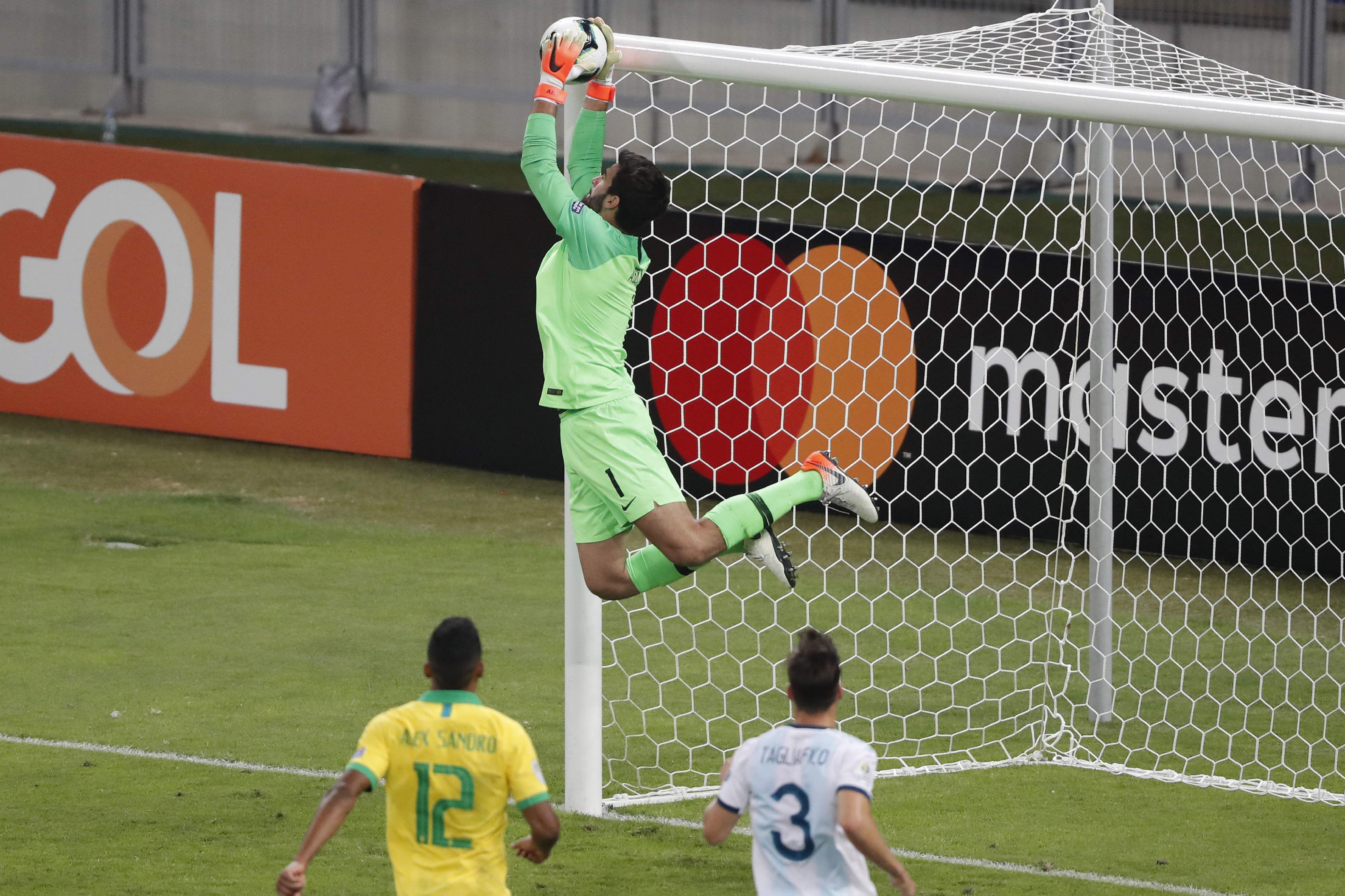 Brazil goalkeeper Alisson