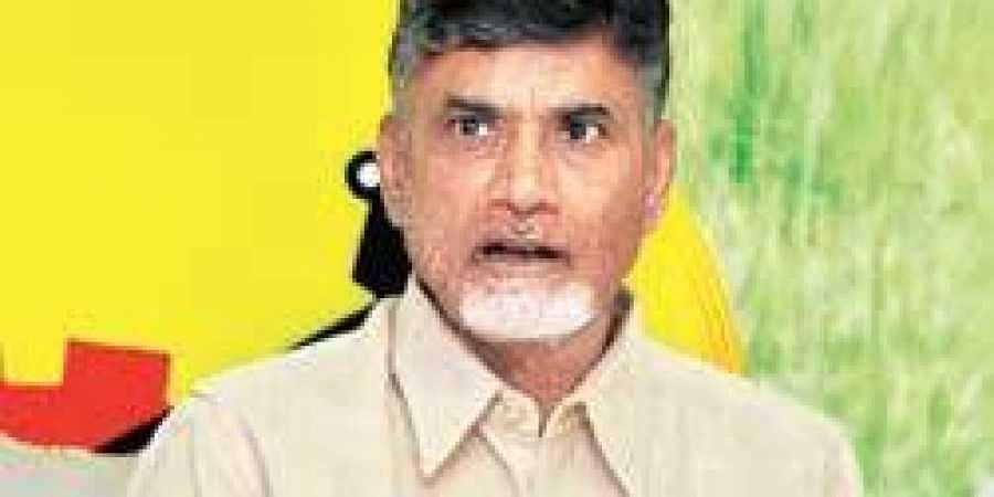 Former Andhra Pradesh CM N Chandrababu Naidu