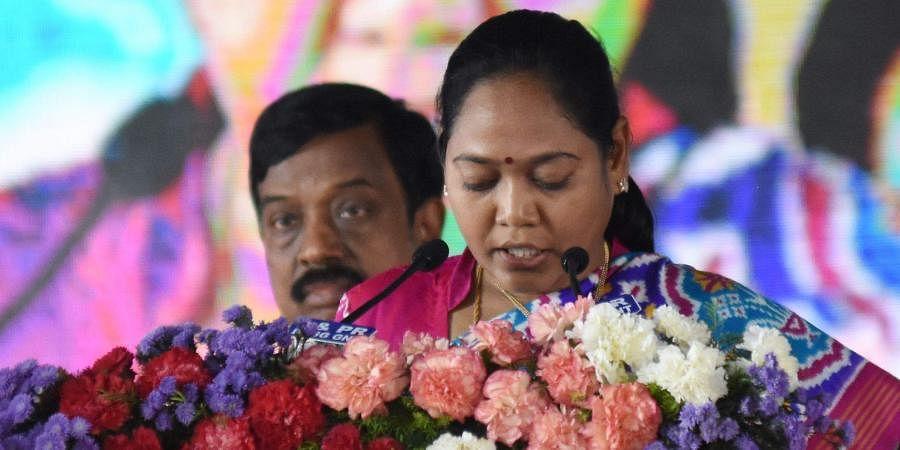 Andhra Pradesh Home Minister M Sucharita