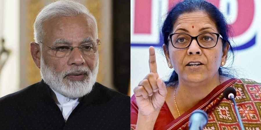 Narendra Modi, Nirmala Sitharaman