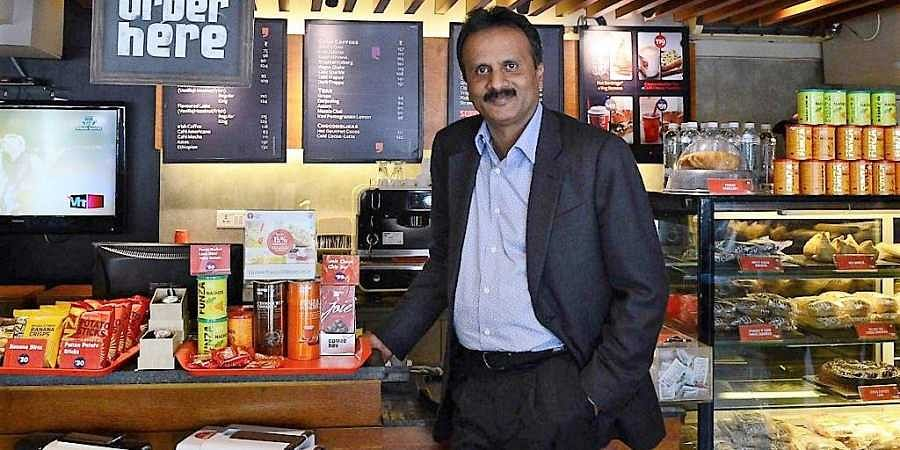 The billionaire owner of Cafe Coffee Day,VG Siddhartha