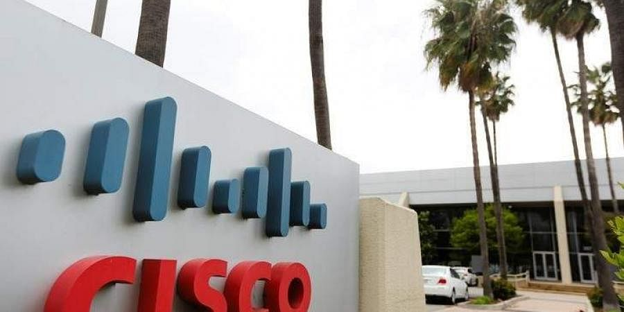 A Cisco Systems sign