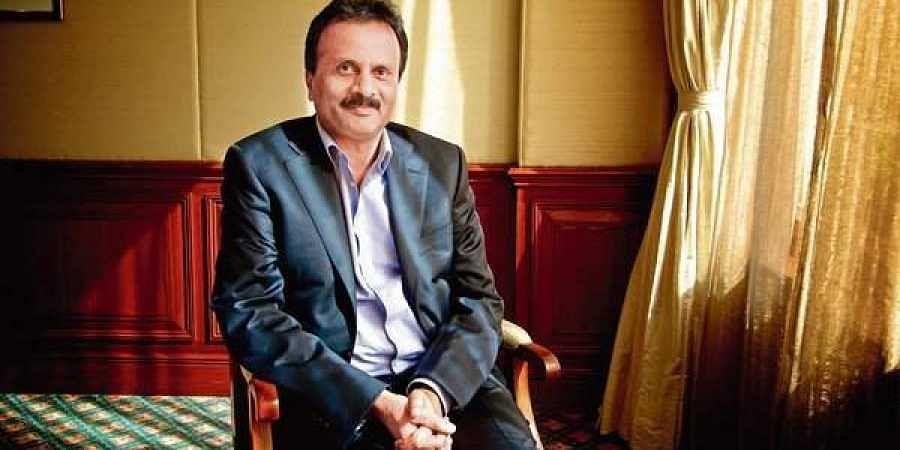 Café Coffee Day owner VG Siddhartha.