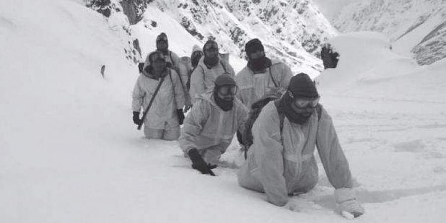 Indo-Tibetan Border Police in the Himalayas
