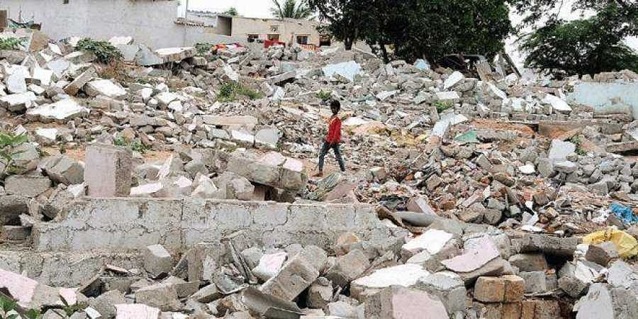 Nine months after evicting locals from Gachibowli, GHMC yet to begin