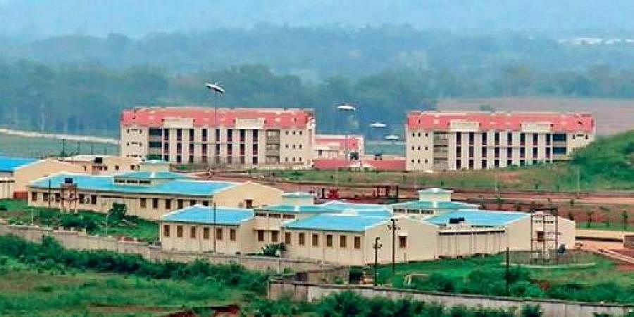 An aerial view of Central University of Odisha