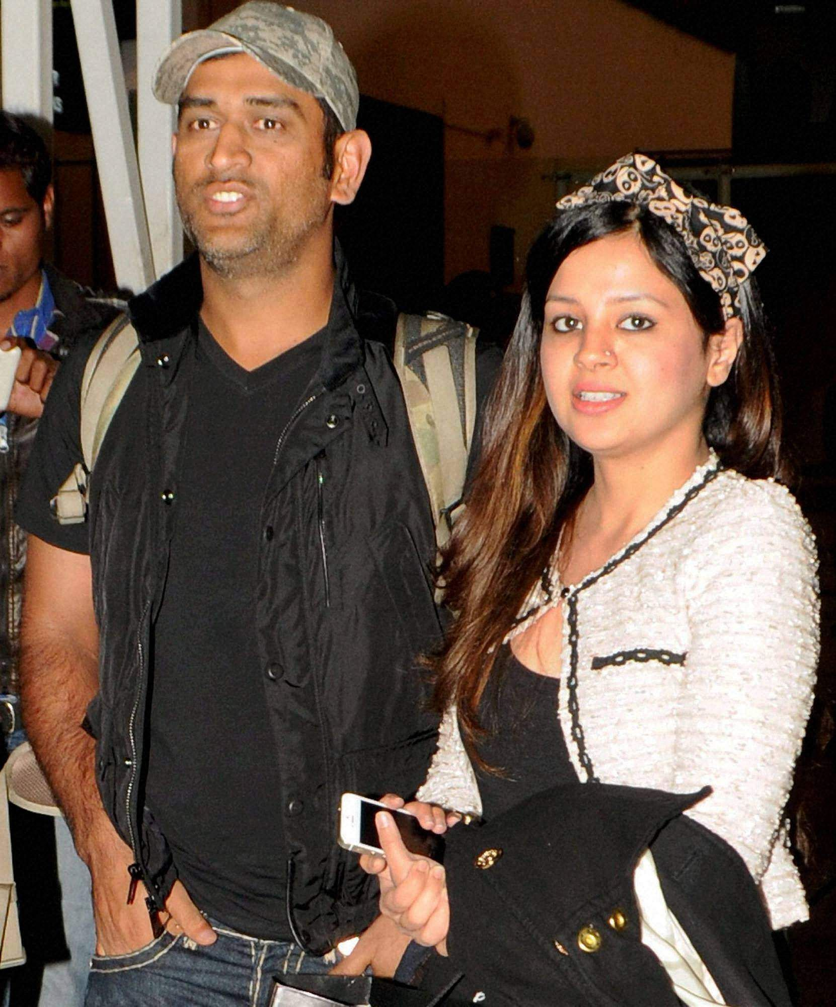 MS Dhoni's wife Sakshi delivered their first baby, a girl, at a private hospital in Gurugram.