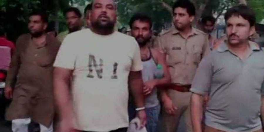 The accused were seen having bananas while being taken to the jail by two constables