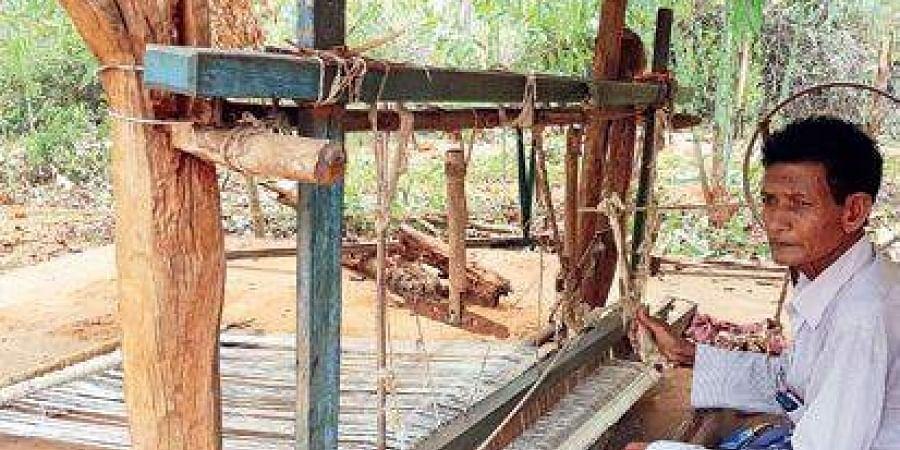 Ram Hial the last Domb weaver