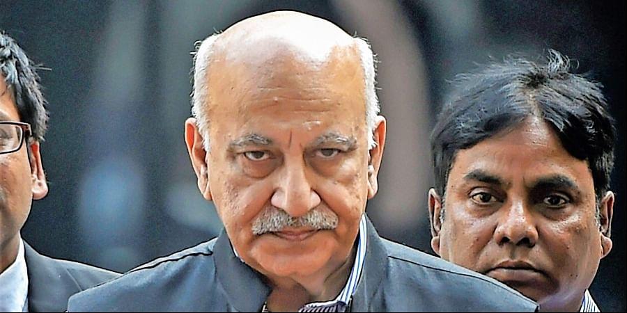 Former Union Minister MJ Akbar