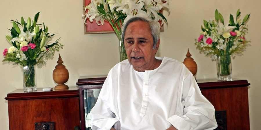 Chief Minister Naveen Patnaik of Odisha at his residence Naveen Nivas in Bhubaneswar on Monday