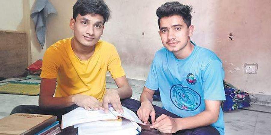 Muhammad Avas (left), Tasmida Johar(below) are Rohingya students
