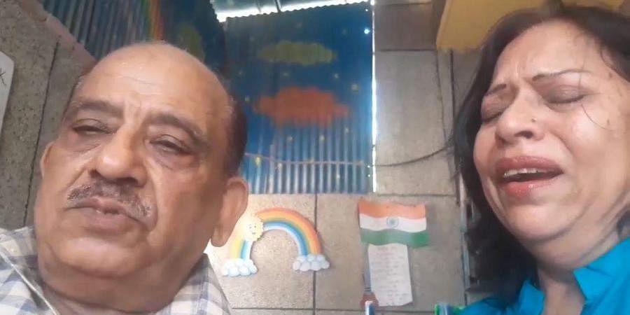 Ghaziabad Elderly Couple