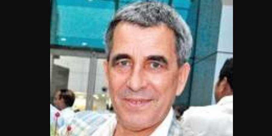 Technical director of Indian Football team Isac Doru