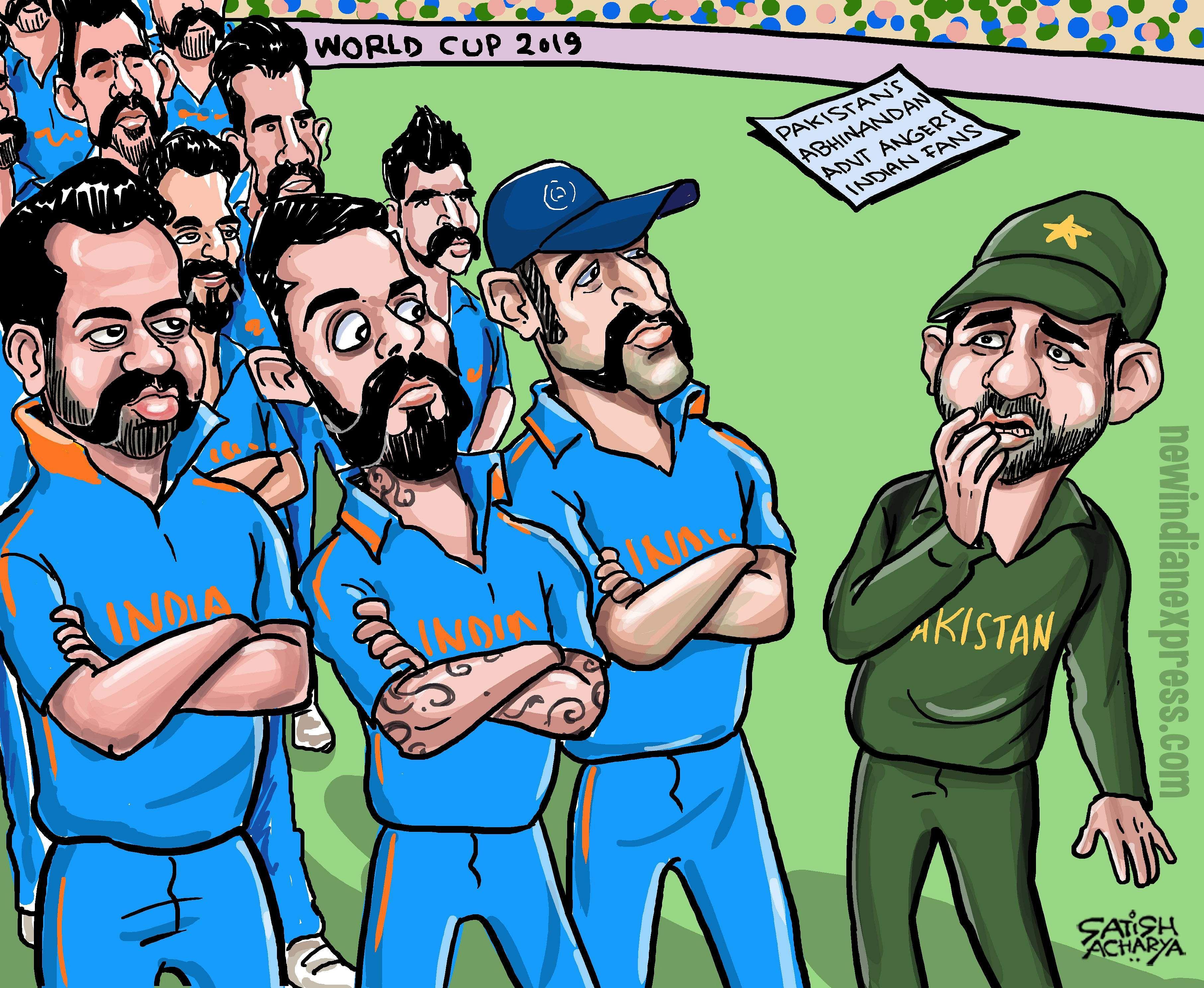 Team India's Abhinandan Varthaman moment
