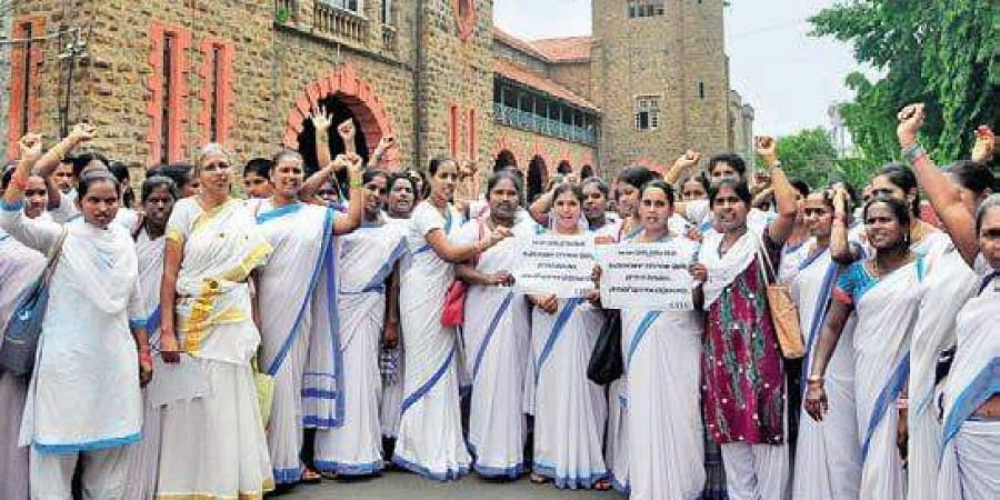 Asha workers in Andhra Pradesh demand release of pending
