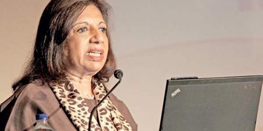 Biocon CMD Kiran Mazumdar-Shaw
