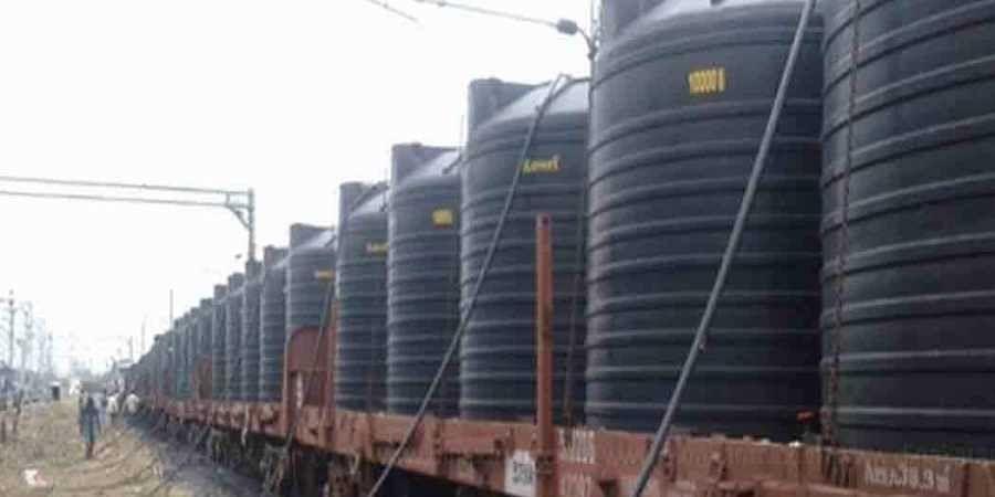 Water train from Jolarpettai to Chennai: Railway to charge