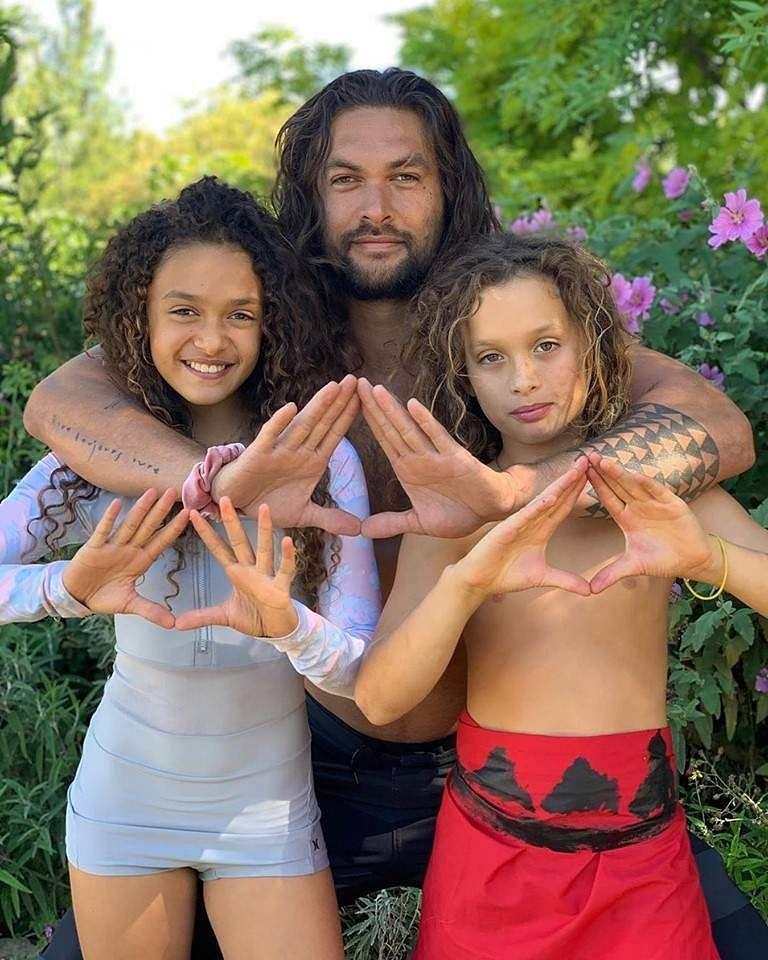 Jason Momoa Kinder