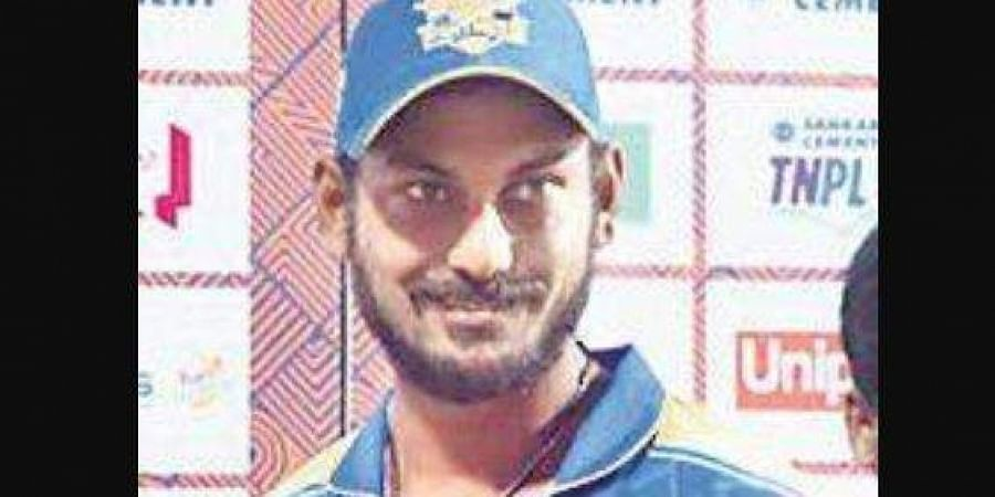KB Arun Karthik kickstarted the chase for Madurai by hammering 16 runs in the first over.