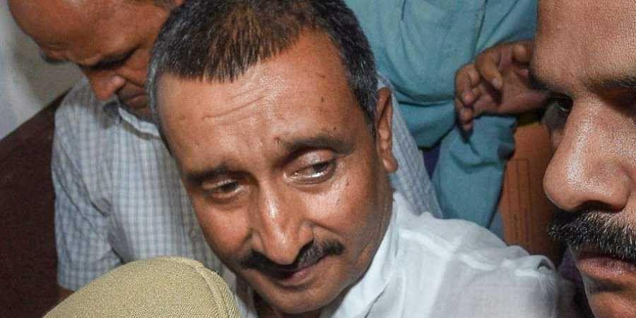 Rape accused MLA Kuldeep Singh Sengar