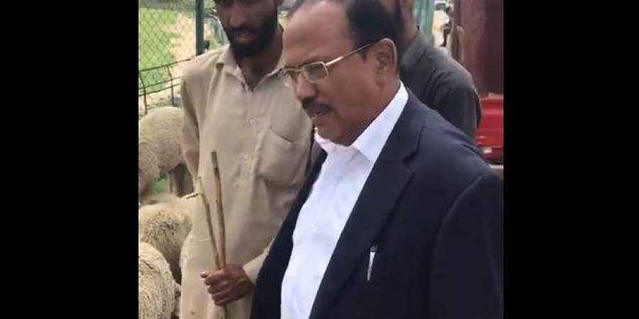 National Security Advisor Ajit Doval on Saturday August 10 visited Anantnag in south Kashmir.