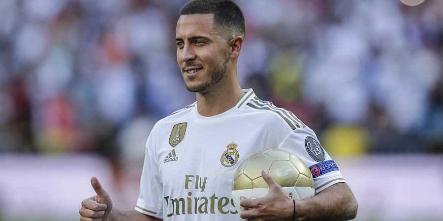 Real Madrid announce Eden Hazard shirt number