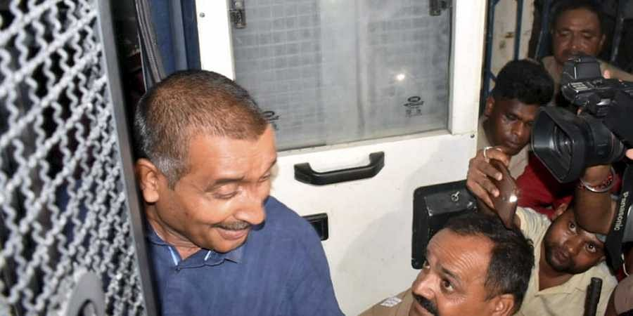 Main accused in Unnao rape case BJP MLA Kuldeep Singh Sengar being shifted from Sitapur prison to appear before Delhi court on 3 August 2019. (Photo | PTI)