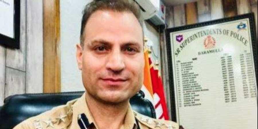 Kashmir senior police officer Imtiyaz Hussain