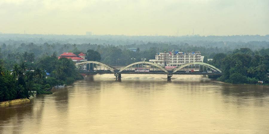 Periyar river, Kerala floods