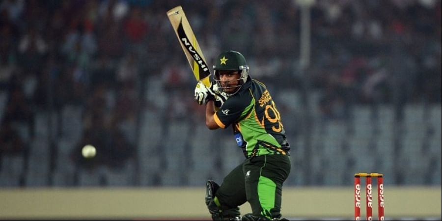 Pakistan cricketer Sharjeel Khan |AFP