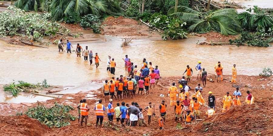 Kavalappara, Nilambur, Keral flood