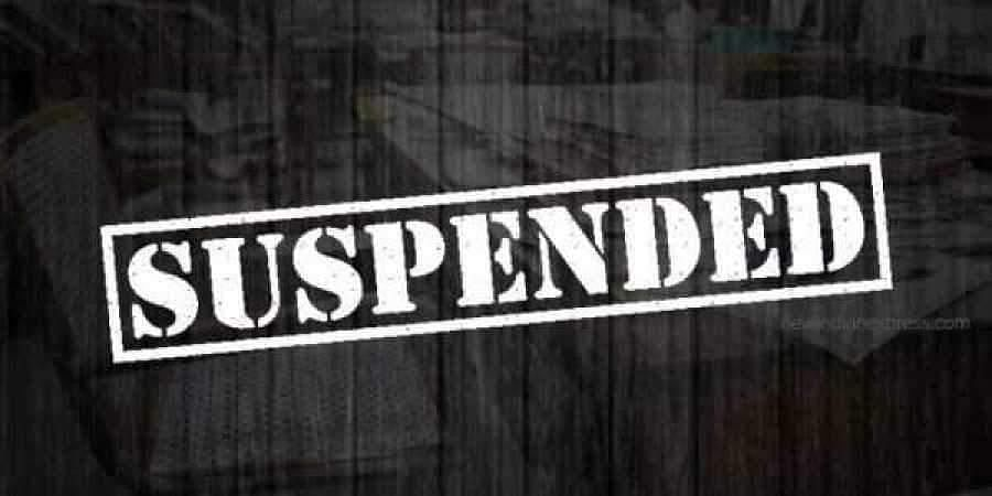 Suspension for the DSP and the SI who allegedly delayed the investigation process.