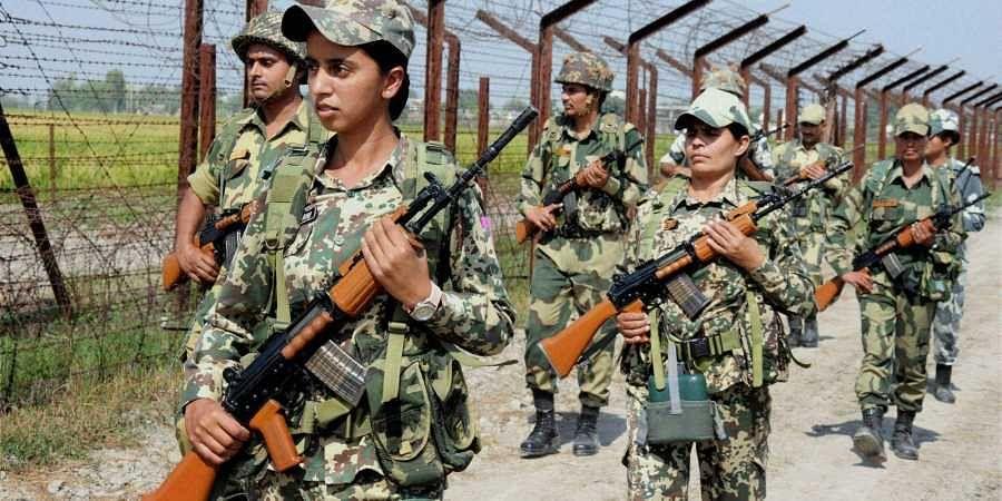 BSF patrolling