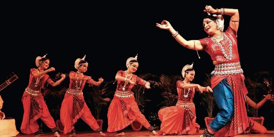 Odissi dance by Ranjana Gauhar.
