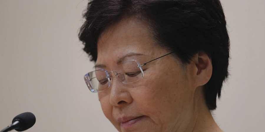 Hong Kong Chief Executive Carrie Lam