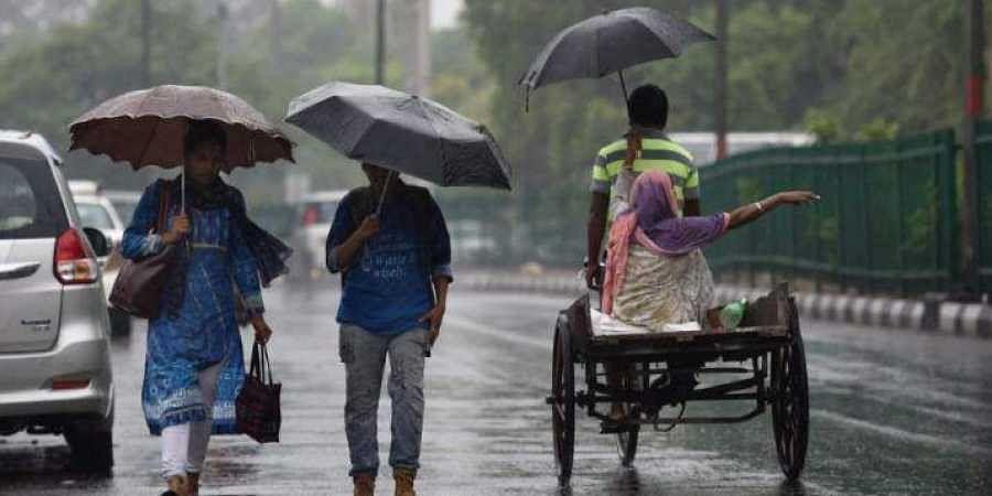 Delhi rains, NEw delhi rain, June 28, 2018   PTI photo