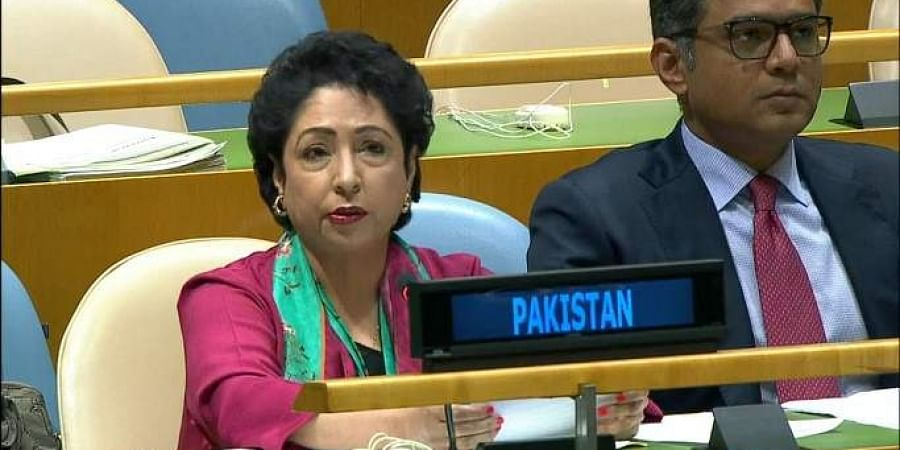 Pakistan's envoy to the UN, Maleeha Lodhi. (Photo | File)