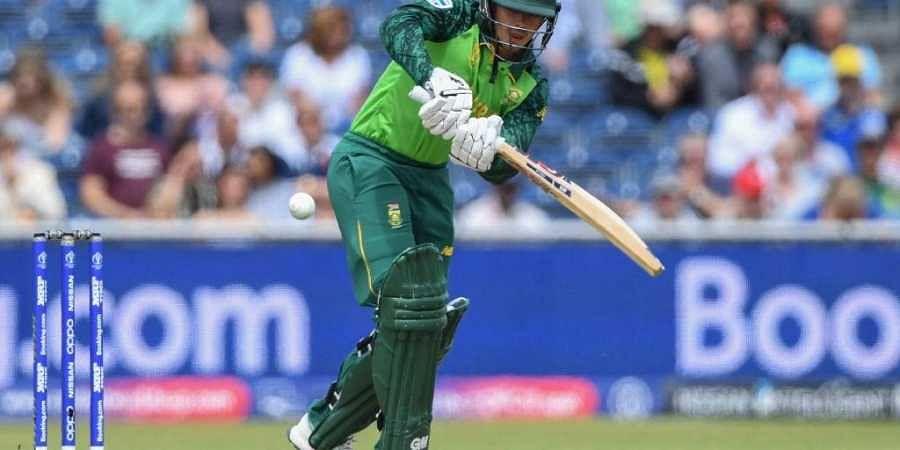 South Africa's Quinton de Kock. (Photo | AP)